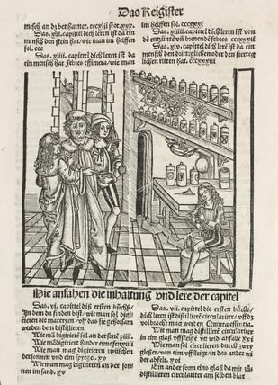 Apothecary's shop, 1512.