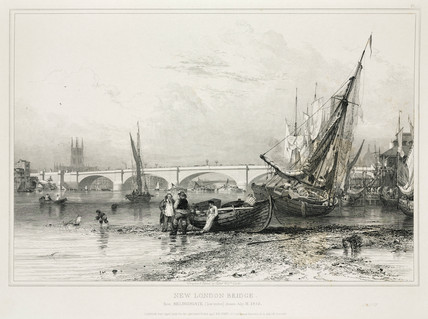 New London Bridge, 1832.