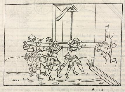 Battering ram, 1534.