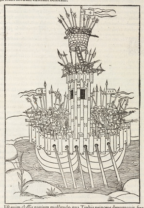 Warship, 1534.