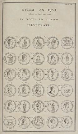 Roman coins, 1723.