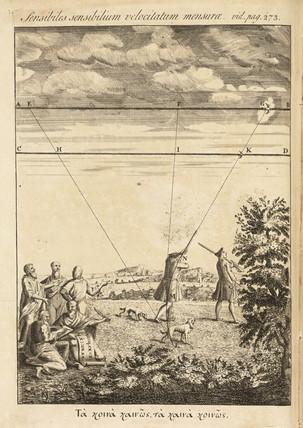 Measuring velocity, 1736.