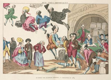 The Bureau of aerial Diligence, 1784.