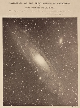 Andromeda Galaxy (M31), 29 December 1888.