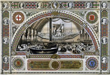 Metropolitan & Provincial Working Clases Exhibition, 3 September 1866.
