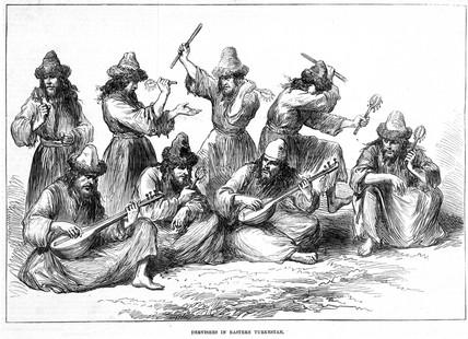 'Dervishes in Eastern Turkstan', 1874.