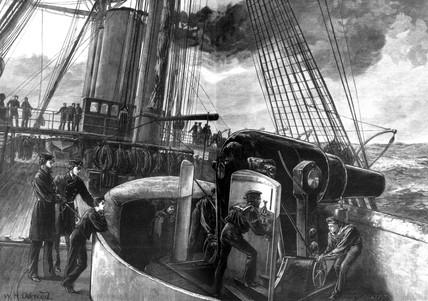 Incident, Temeraire, 1878.
