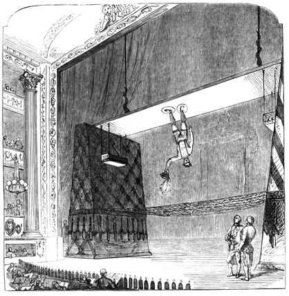 'Air Walker', Drury Lane Theatre, London, 1853.