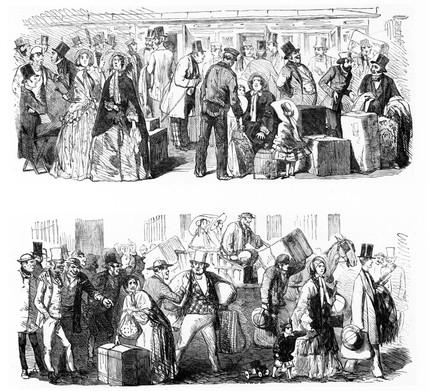 Cab strike, 1853.