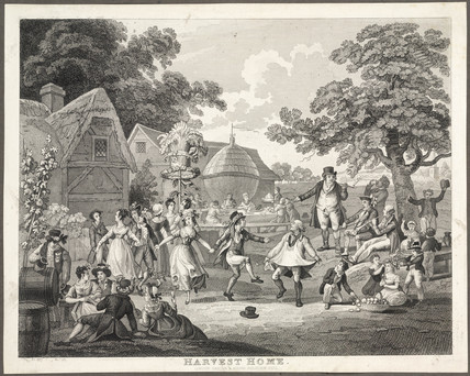 'Harvest Home', c 1810-1820.