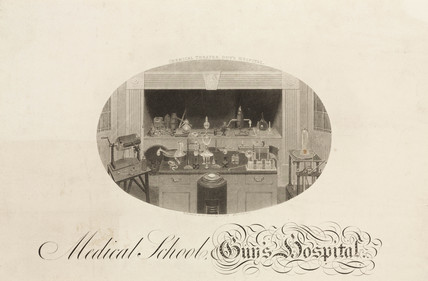 Chemical theatre, Guys Hospital, London, 1816.