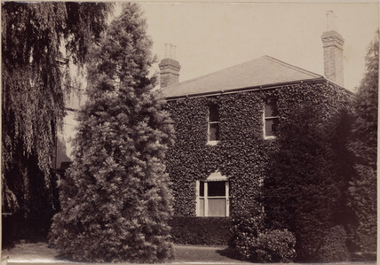 Exterior of Sir William Henry Perkin's house at Sudbury, Middlesex, c 1906