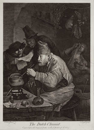 'The Dutch Chymist', c 1780s.