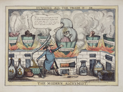 'The Modern Alchymist', 1827.