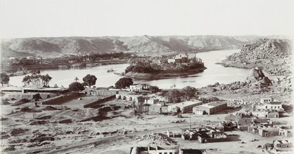 View of Aswan, Abu Simbel, Egypt, 1900-1901.