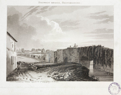 'Bromham Bridge, Bedfordshire', 1812.