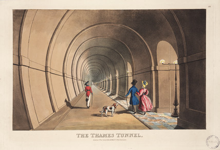 'The Thames Tunnel', London, 1830.