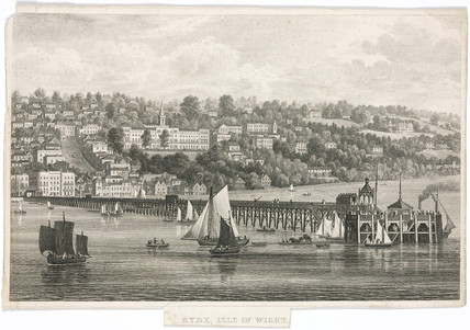 'Ryde, Isle of Wight', c 1820.