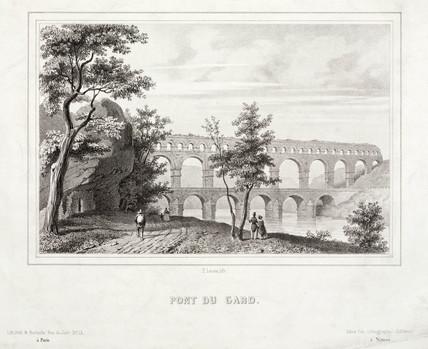'Pont du Gard', France, 19th century.
