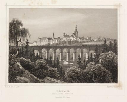 'Lobau', Saxony, Germany, c 1840.