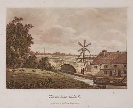 'Thames-head Bridge', 1799.