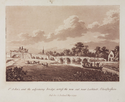 Bridge near Lechlade, Gloucestershire, 1799