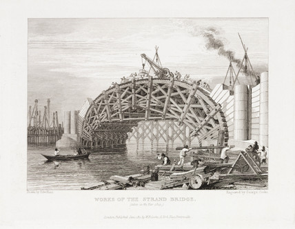 'Works of the Strand Bridge', London, 1815.