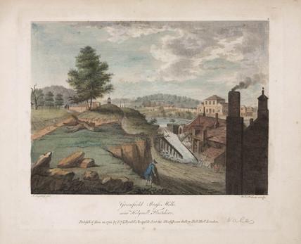 'Greenfield Bras Mills, near Holywell, Flintshire', Wales, 1792.