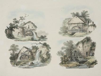 Rural watermills, 1821.