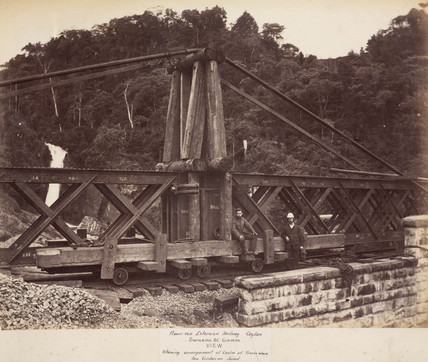 Construction of the Nanu Oya Extension Railway, Ceylon, 1878-1883.