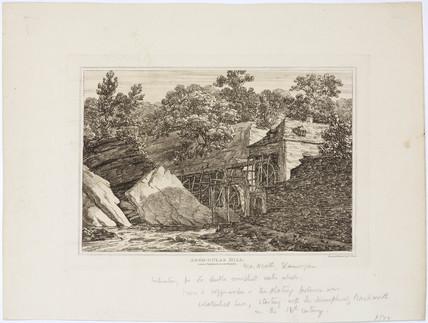 'Aber-dulas Mill', Wales, 1812.