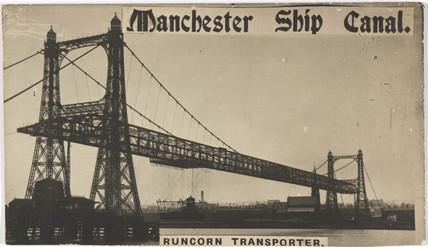 'Manchester Ship Canal, Runcorn Transporter Bridge', 1905-1910.