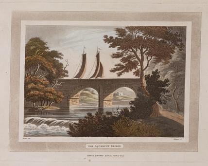'The Aqueduct Bridge', Scotland, 1801.
