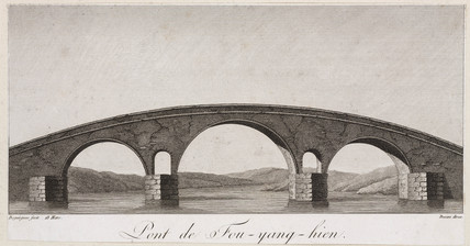 Bridge of Fou-yang-hien, China, late 18th century.