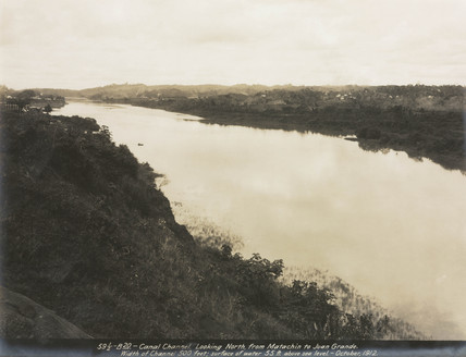 Construction of the Panama Canal, Panama, 1912.
