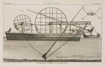 Dredger, 1754.