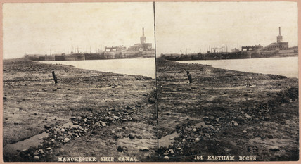 'Manchester Ship Canal, Eastham Docks', 1893-1894.