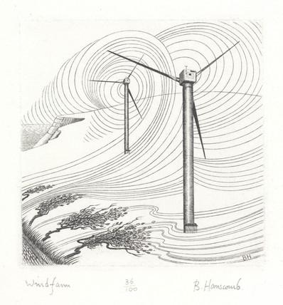 'Windfarm', 1992.
