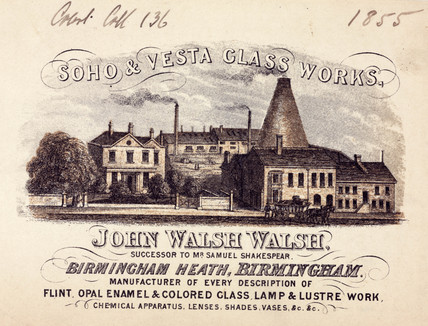 Soho & Vesta Glas Works, Birmingham, 1855.