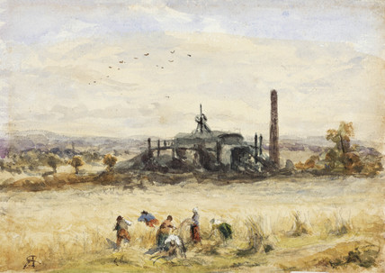 Coal pits near Tranent, Midlothian, Scotland, late 19th century.