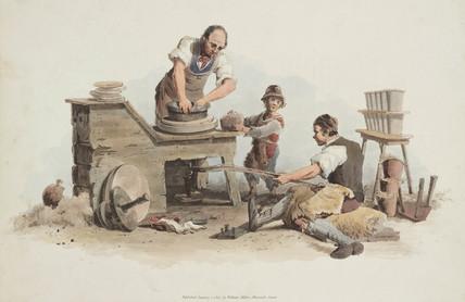 'Pottery', 1808.