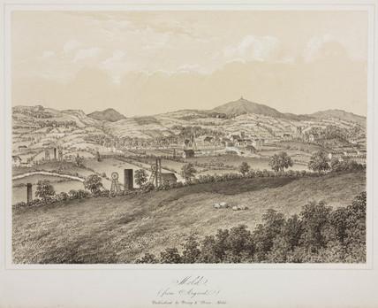 'Mold', Flintshire, c 1855.