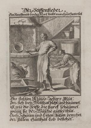'The Soapboiler', 1698.