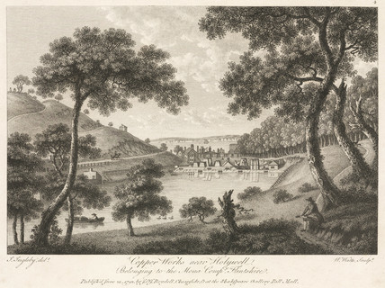 The Copper Works near Holywell, Wales, 1792.