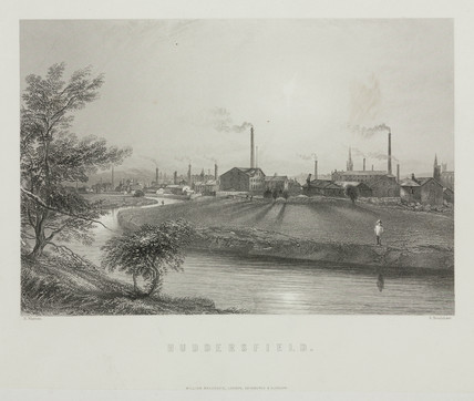 Huddersfield, West Yorkshire, 1869.