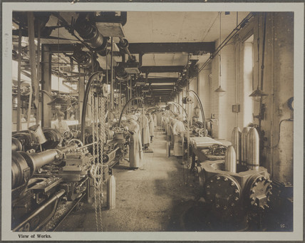 'View of Works', Cunard Munition Works, Liverpool, 1914-1918.