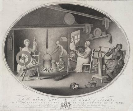'Spinning' , Republic of Ireland, 1783.
