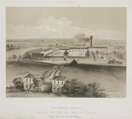 Agricultural factory, Belgium, 1830-1860.