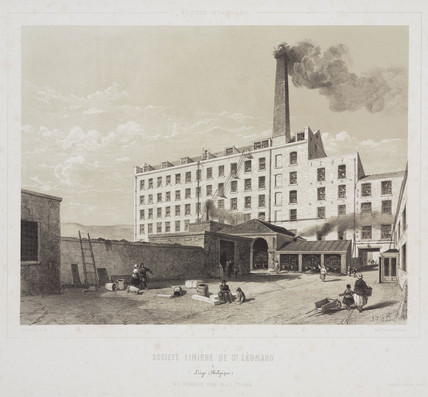 St Leonard Linen Society, Belgium, 1830-1860.