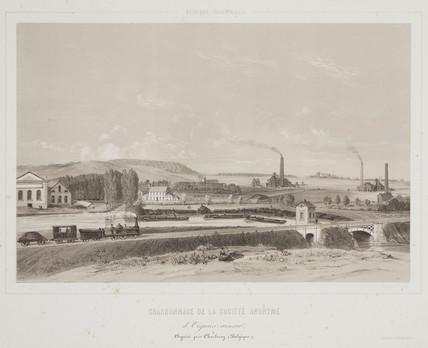 D'Oignies-aiscau Coalmining Company, Belgium, 1830-1860.